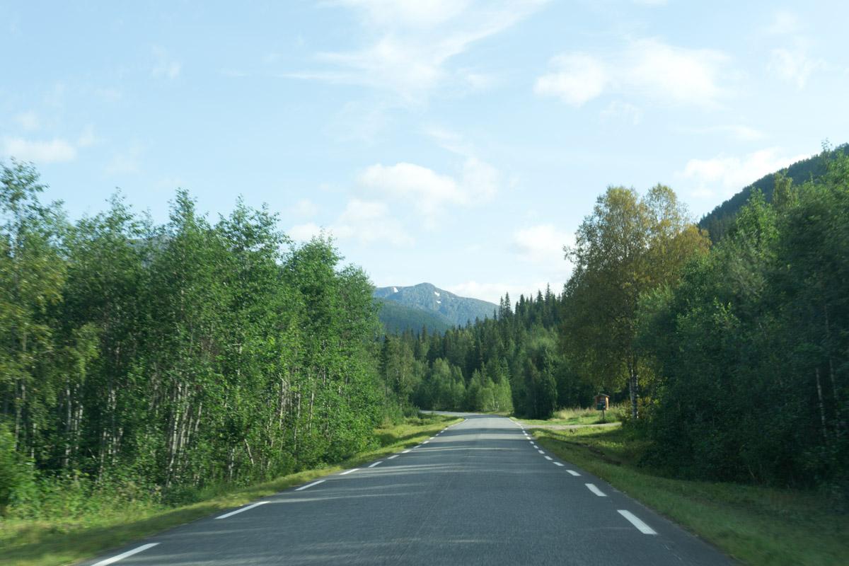 Richtung Swartisengletscher