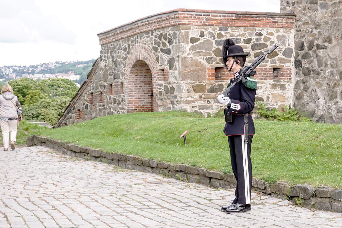 Königliche Garde in der Festung Askerhus
