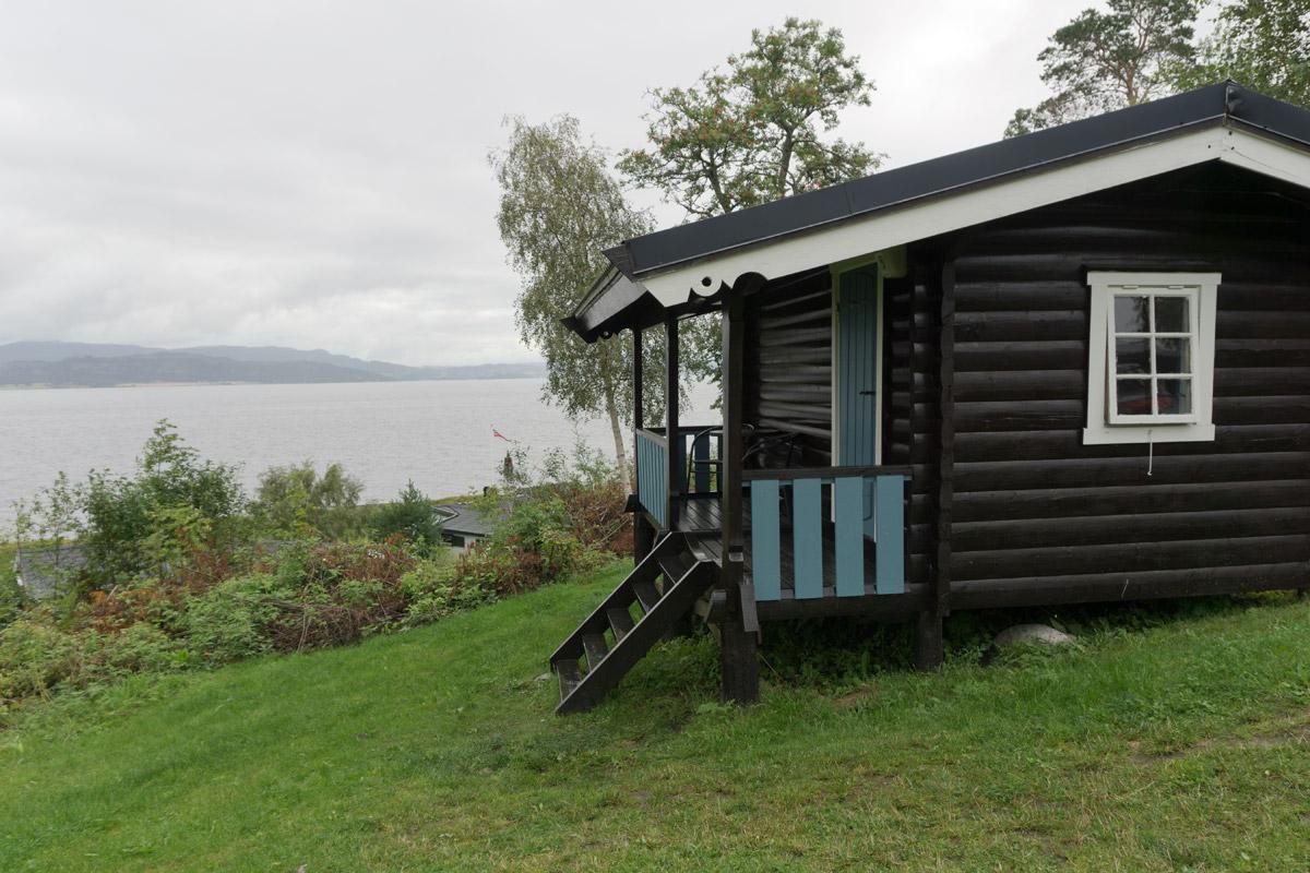Storsandcamping in der Nähe von Trondheim