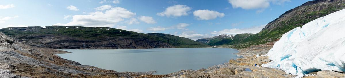 Panorama Oberer Gletschersee