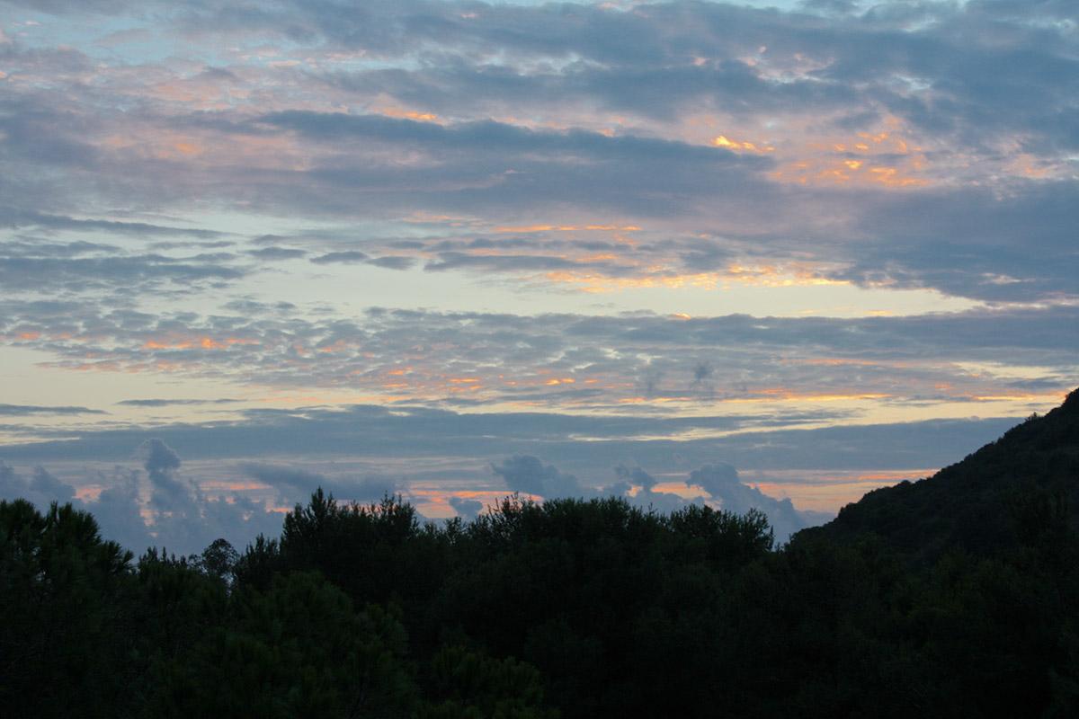 Sonnenuntergang in Fonteblanda