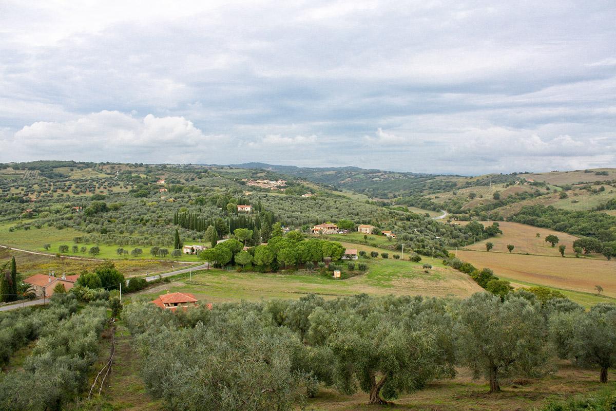 Aussicht von Magliano