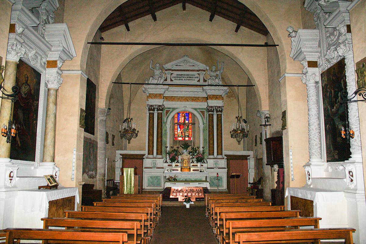 Die Kirche von Magliano