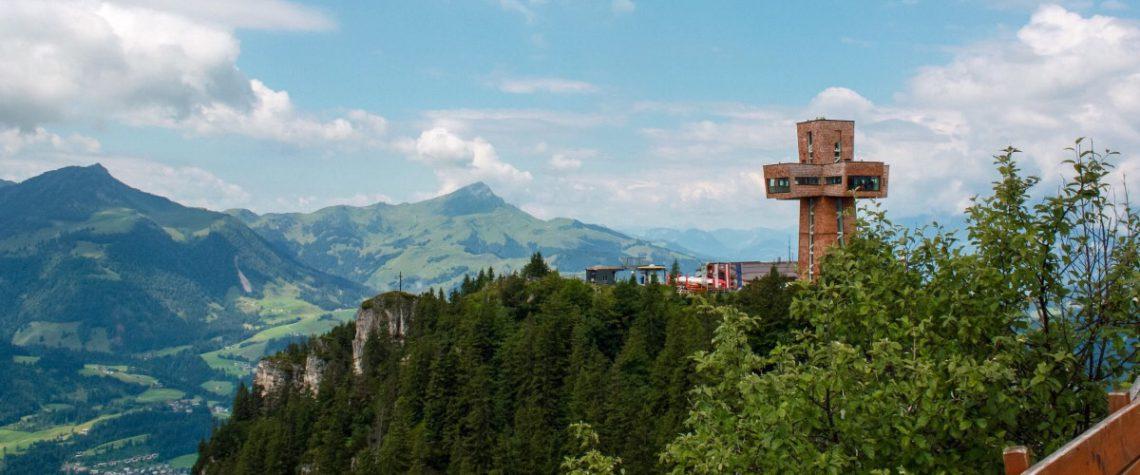 Das Jacobskreuz auf der Buchensteinwand.