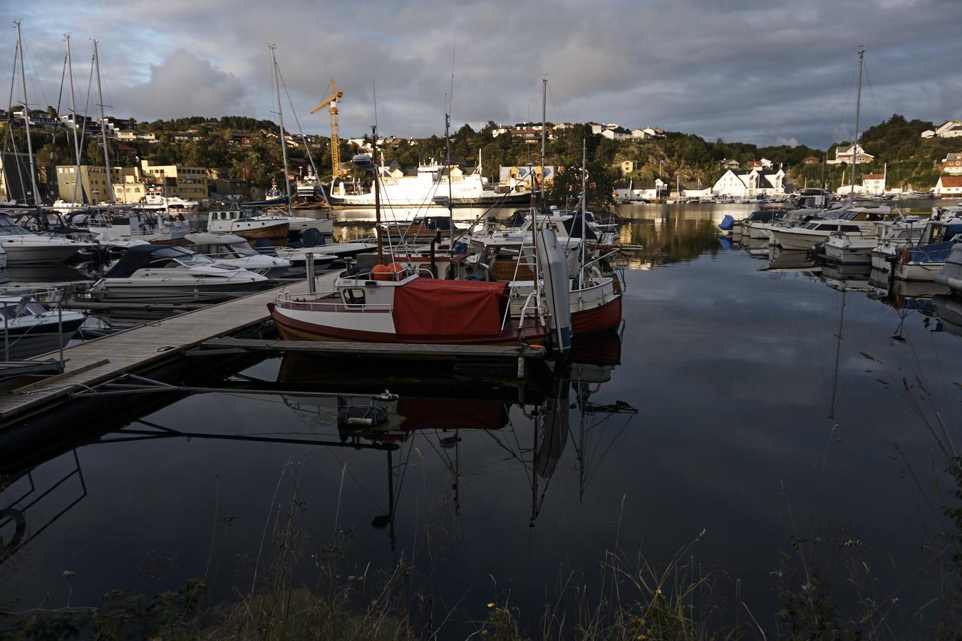 Hafen von Kristiansund