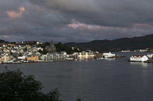 Blick auf Kristiansund