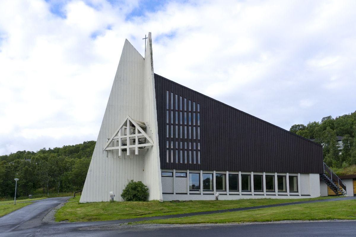 Kirche von Myre - heute leider geschlossen