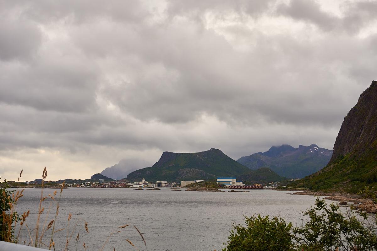 Blick auf Svolvær