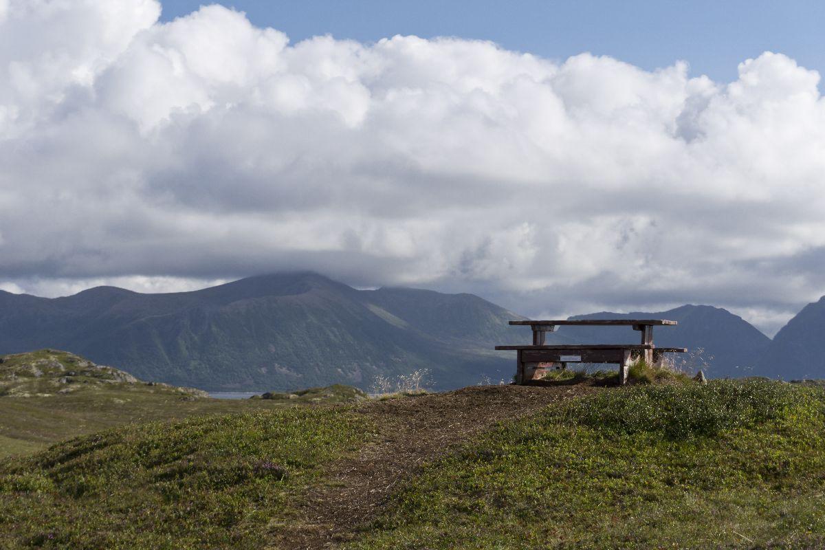 Dieser Blick könnte ohne weiteres auch aus dem Alpenraum stammen. Tut es aber nicht. Ist original norwegisch.