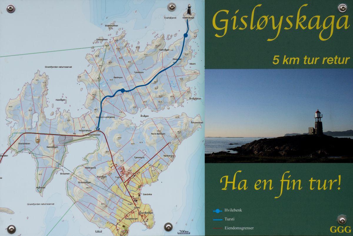 Der Wanderweg Gisloyskaga