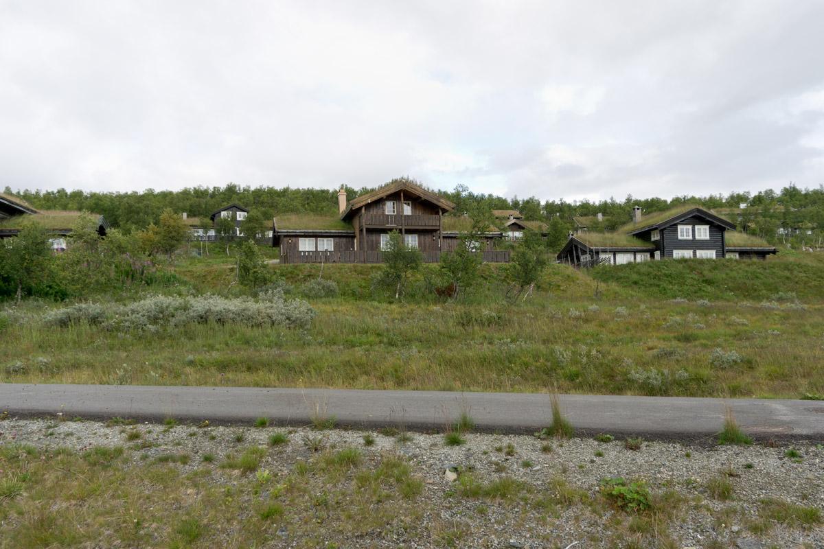 Jotunheimen Nationalpark, Ferienhäuser