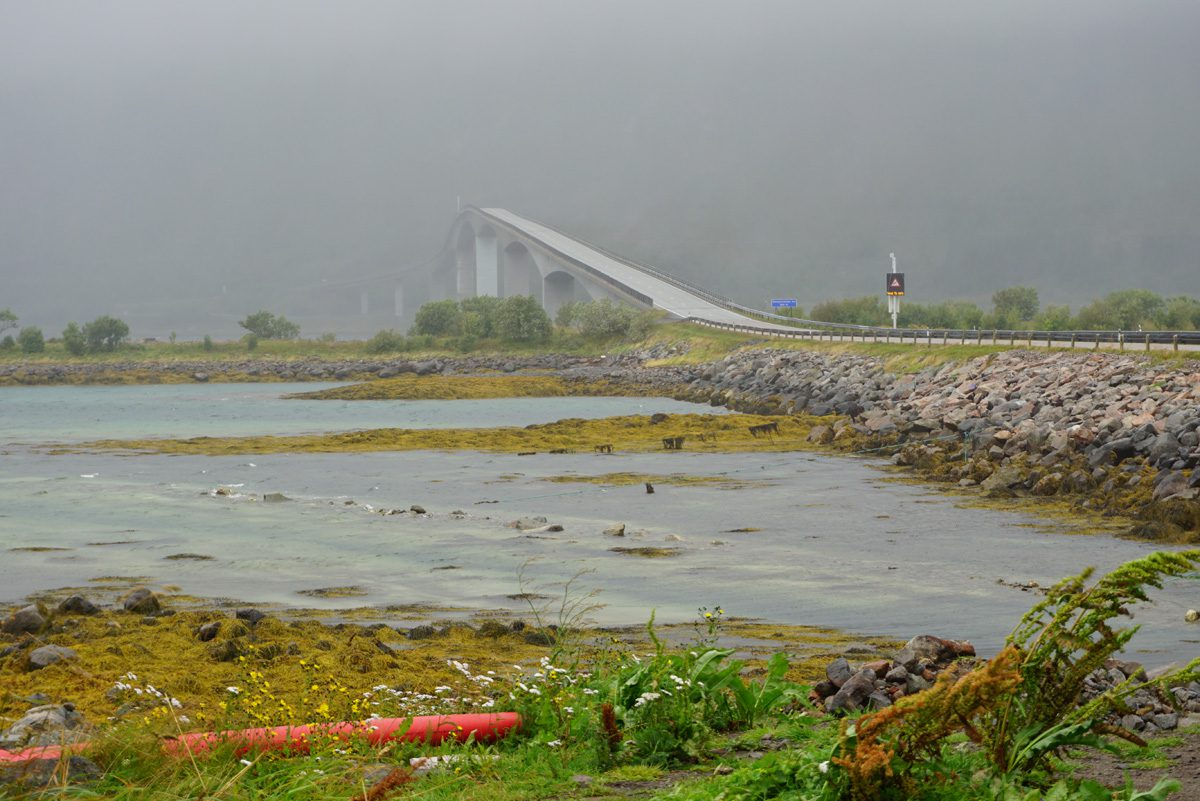 Gimsøystraumen Brücke