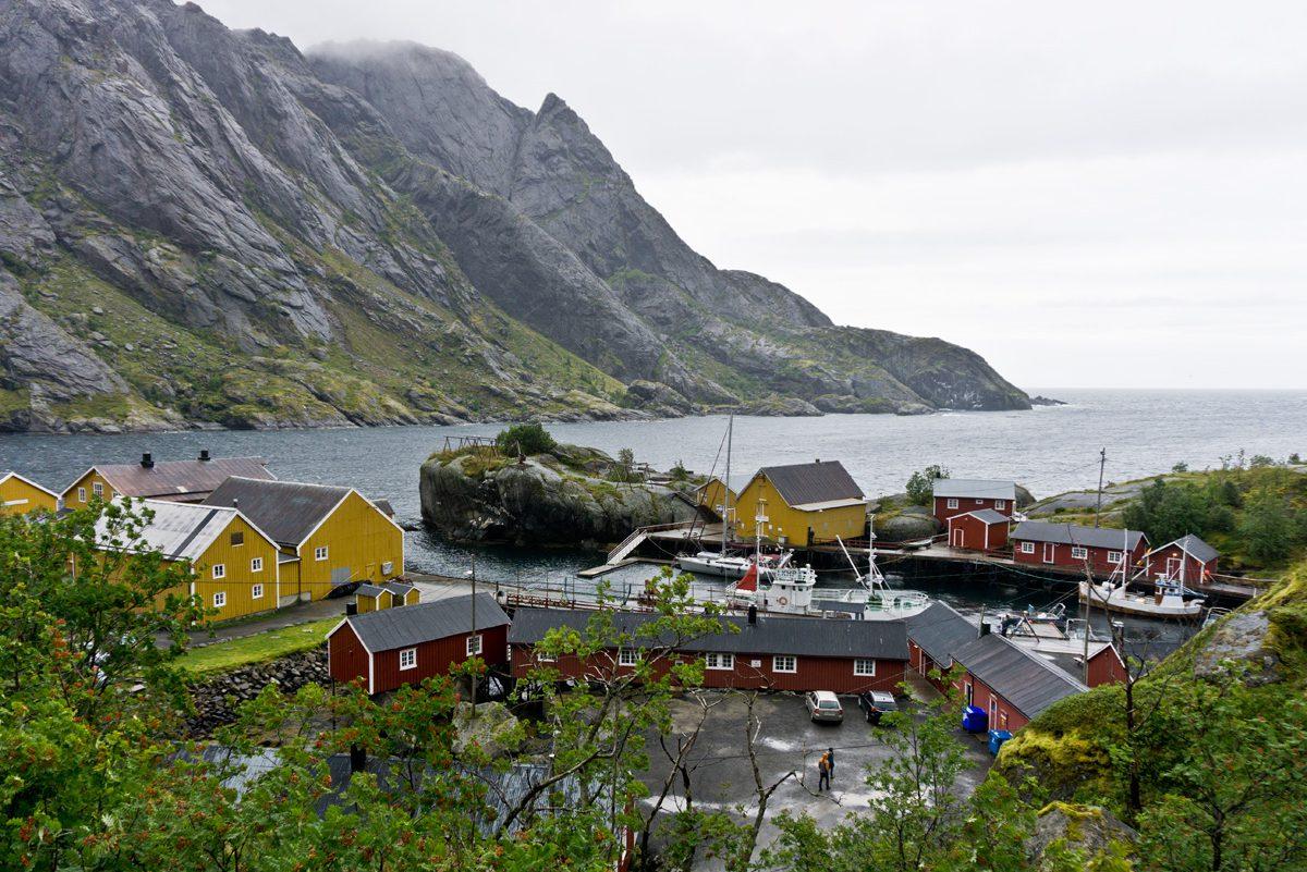 ehemaliges Fischerdorf Nusfjord