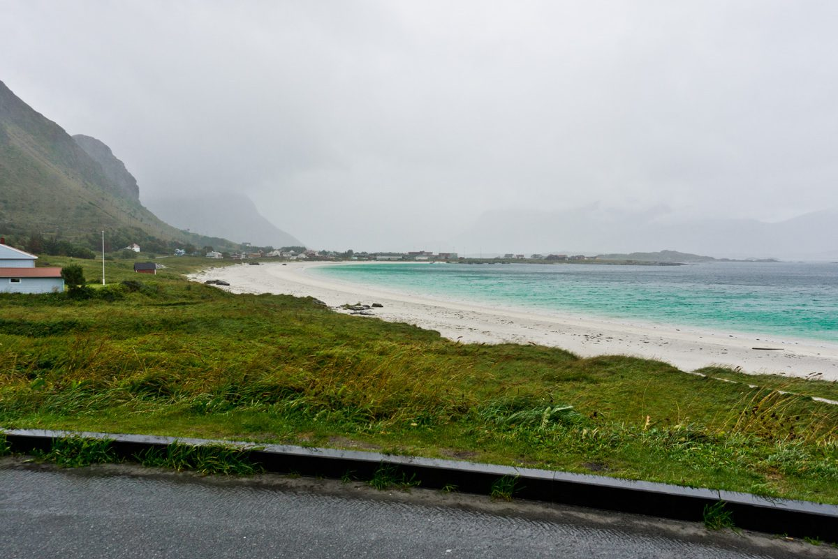 malerischer Strand Rambergstranda