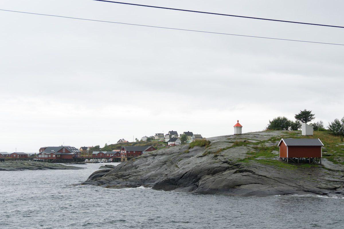 Blick auf Å i Lofoten
