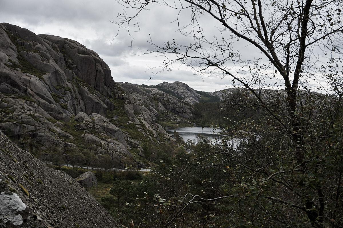 Die Dalane erkennt man an ihren runden Steinformationen.