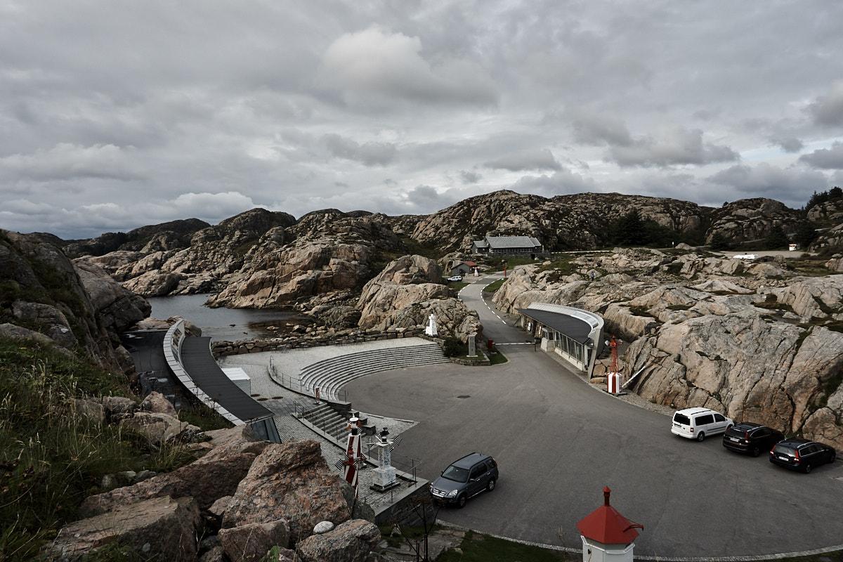 Auf alle Fälle gibt es genügend Parkplätze für die Besucher.