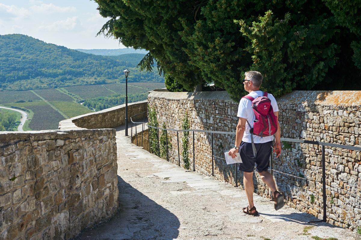 Rundgang auf der Stadtmauer
