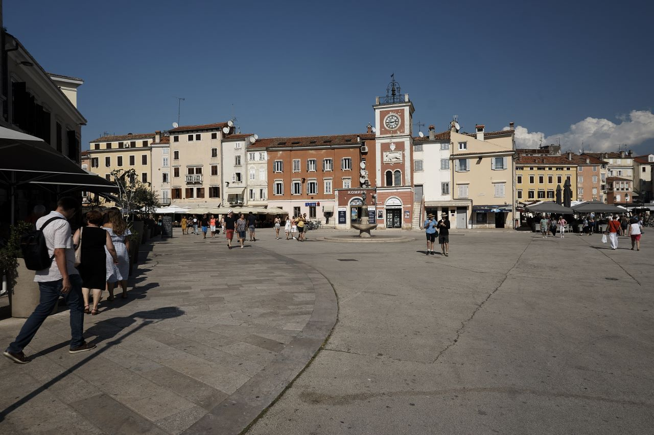 Marktplatz am Hafen