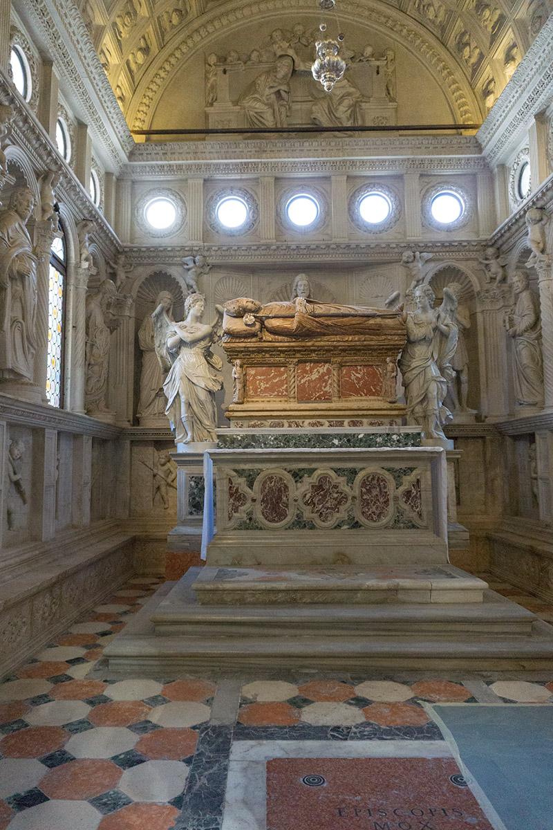 Die Kapelle des Hl. Johannes.
