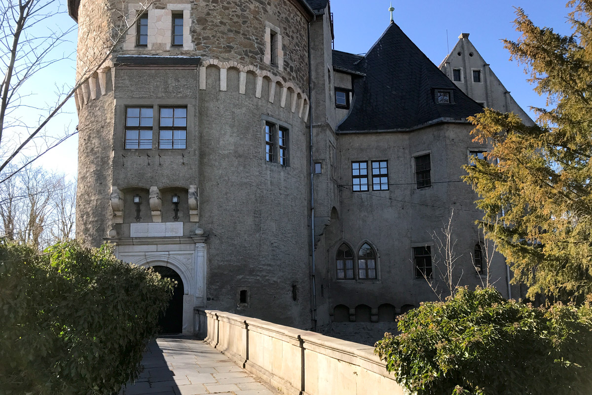 Schloss Reinsberg wie aus dem Märchen.