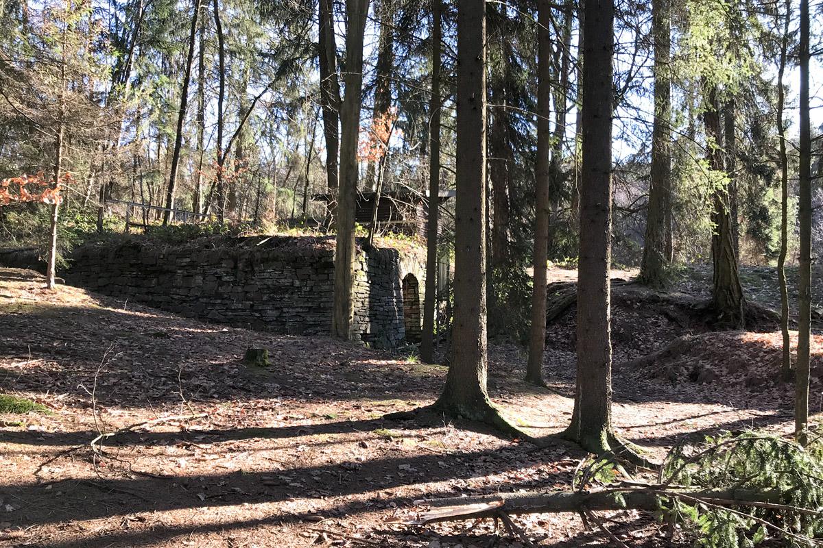 Letzte Zeugnisse des Bergbaues im Freiberger Revier.