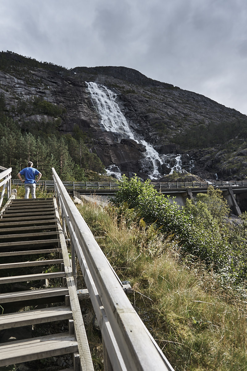 Wasserfall Langfossen