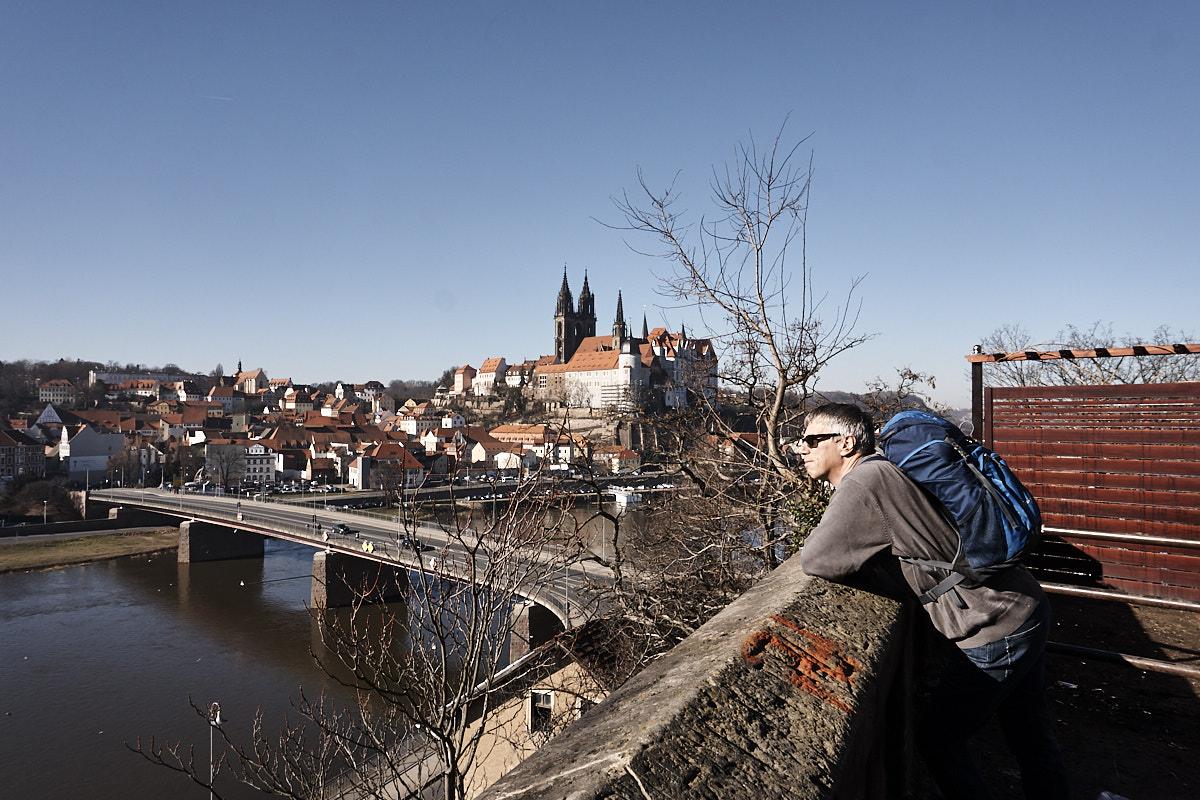 Geheimtipp mit der besten Aussicht auf die Albrechtsburg von Meißen