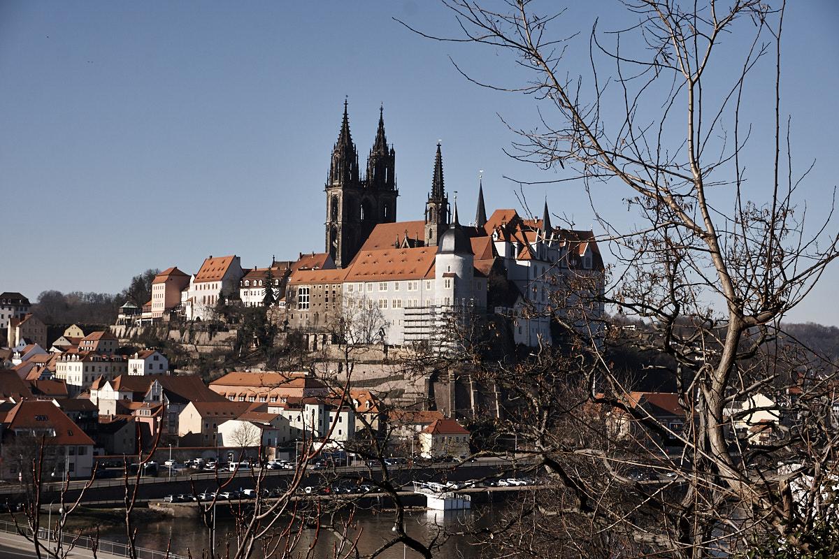 Die Albrechtsburg in Meißen