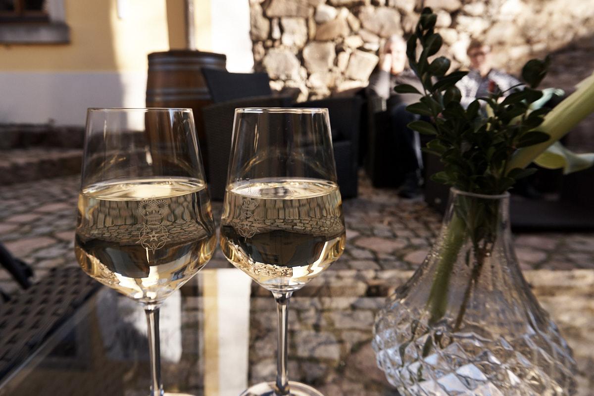 Cuvee Clemens in zwei Gläsern