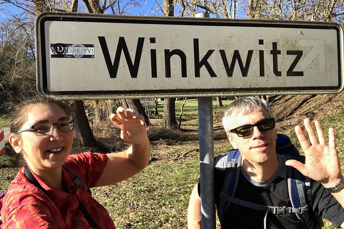 Albern in Winkwitz ;)